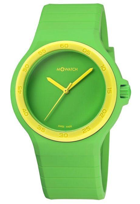 M-WATCH Mondaine Maxi Colour Armbanduhr, grün #Uhr #Accessoire #Galaxus