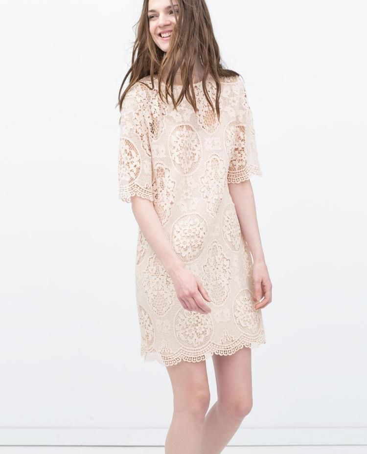 comprar vestidos recto zara