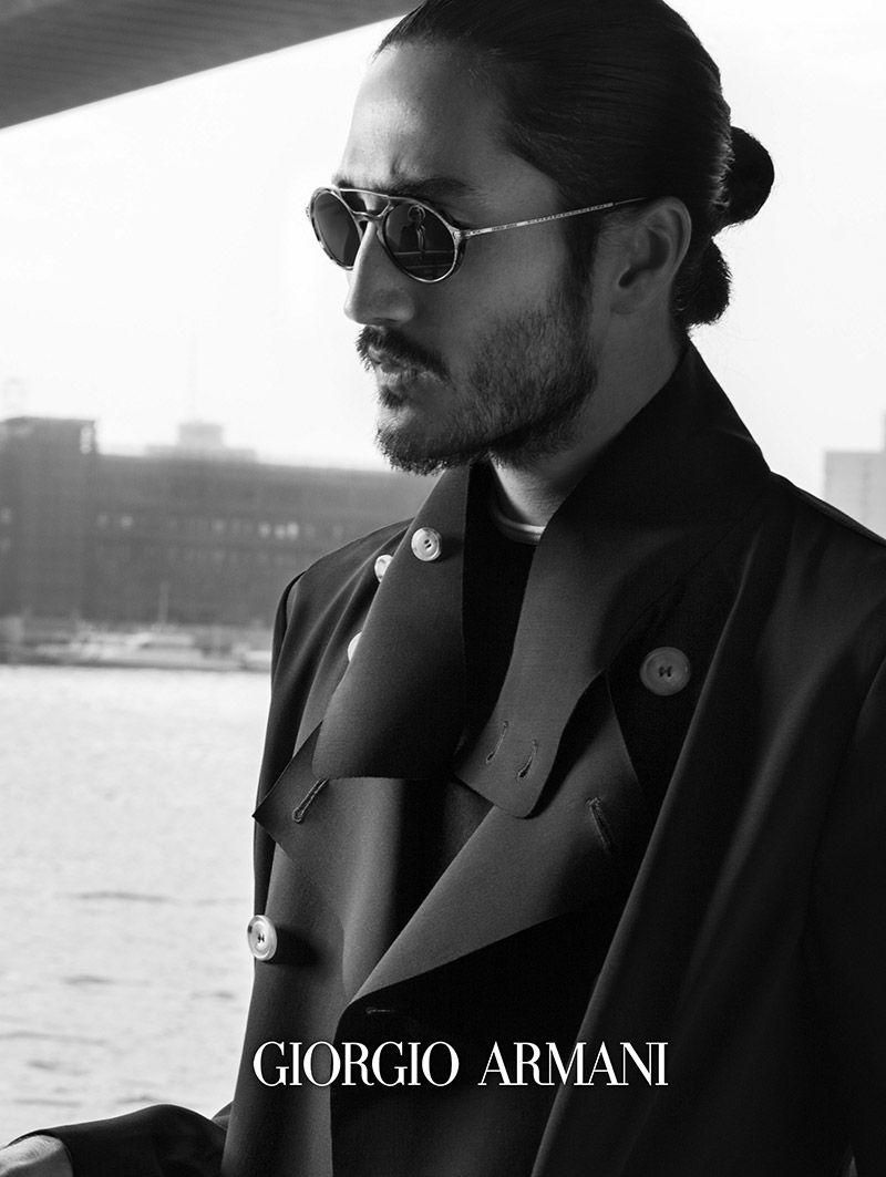 Giorgio Armani Eyewear: Frames of Life Spring/Summer 2014 Campaign ...