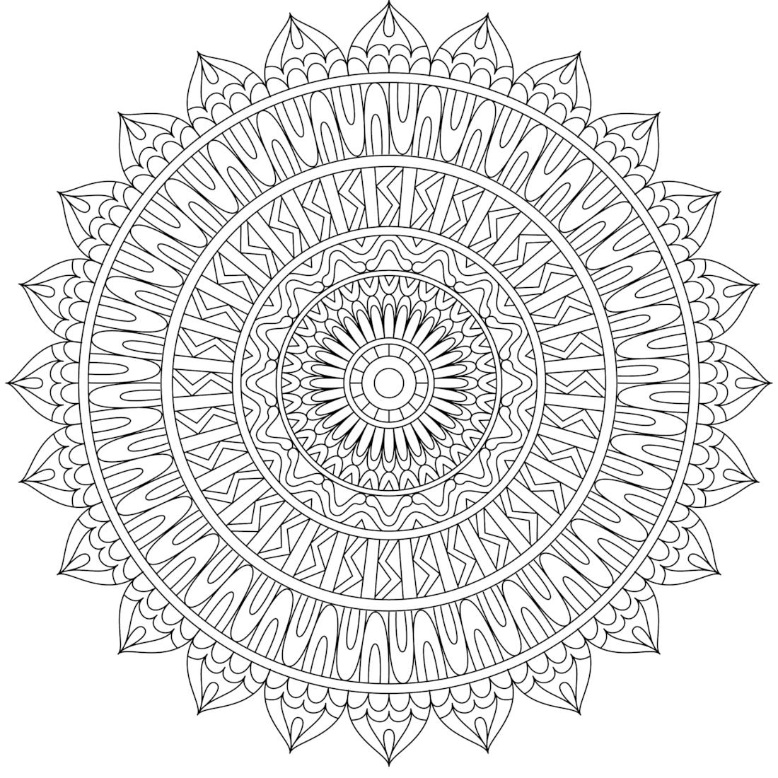 Pin By Monday Mandala On Printable Mandalas To Color