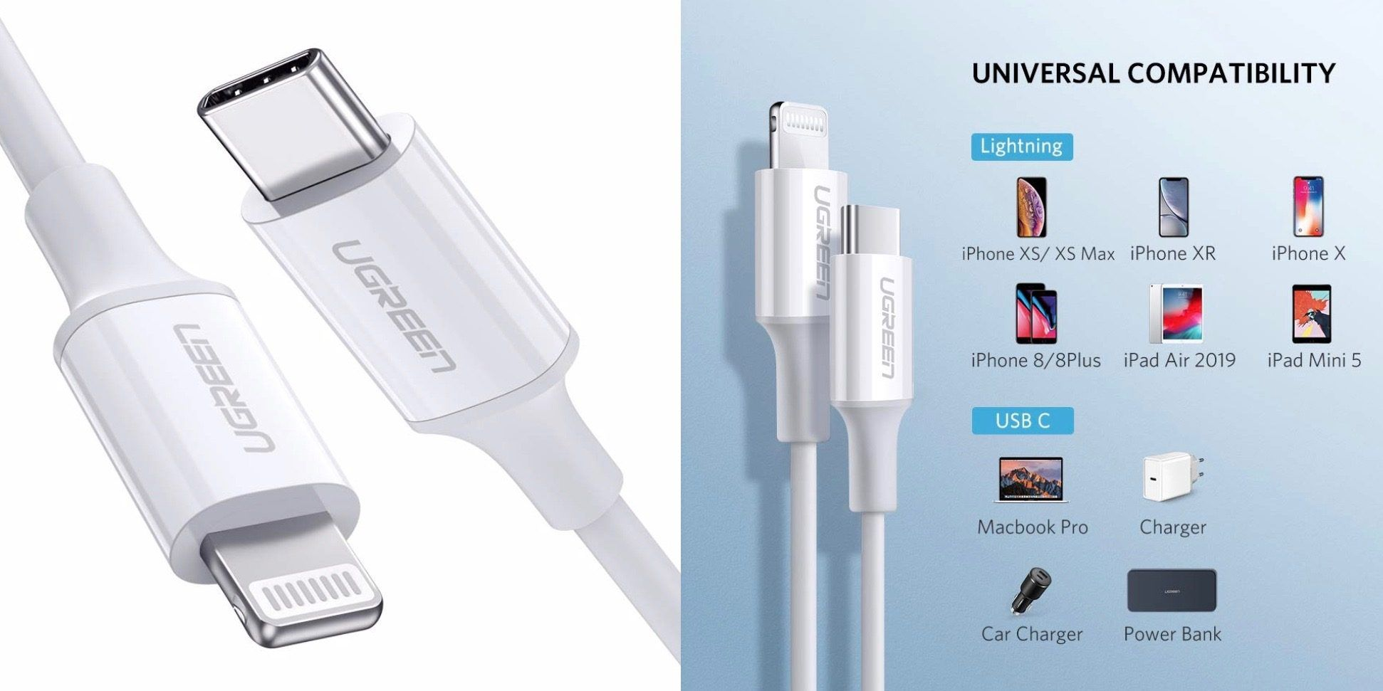 Mfi Usb C To Lightning Cable