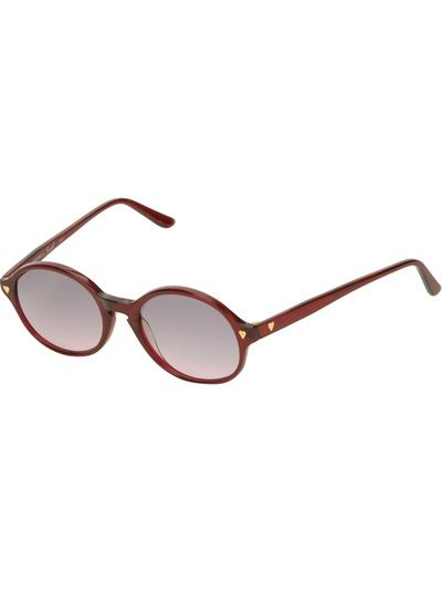 MOSCHINO BY PERSOL VINTAGE Round Sunglasses