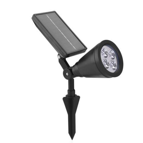 128 LED Solarleuchte Bewegungsmelder Solarstrahler Solarlampe Außen Gartenlampe
