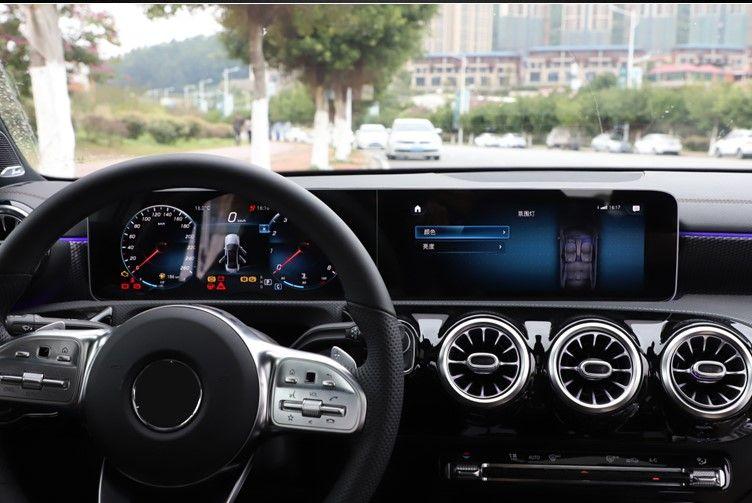 2019 Mercedes Benz A Class A200 High Resolution Navigation Screen
