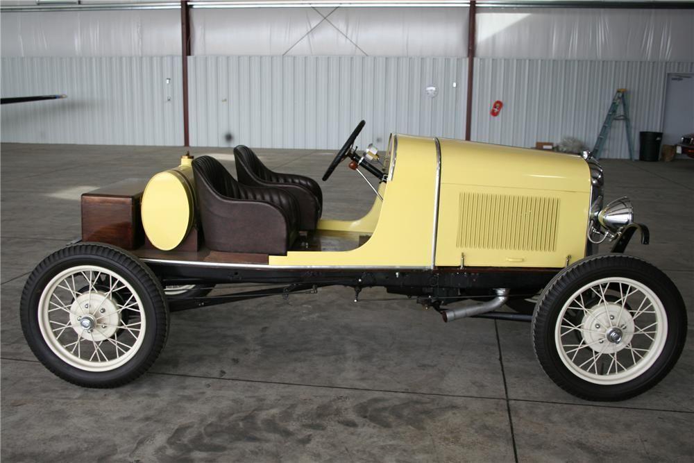 1931 Ford Model A Speedster Kit Car Side Profile 98169 Kit