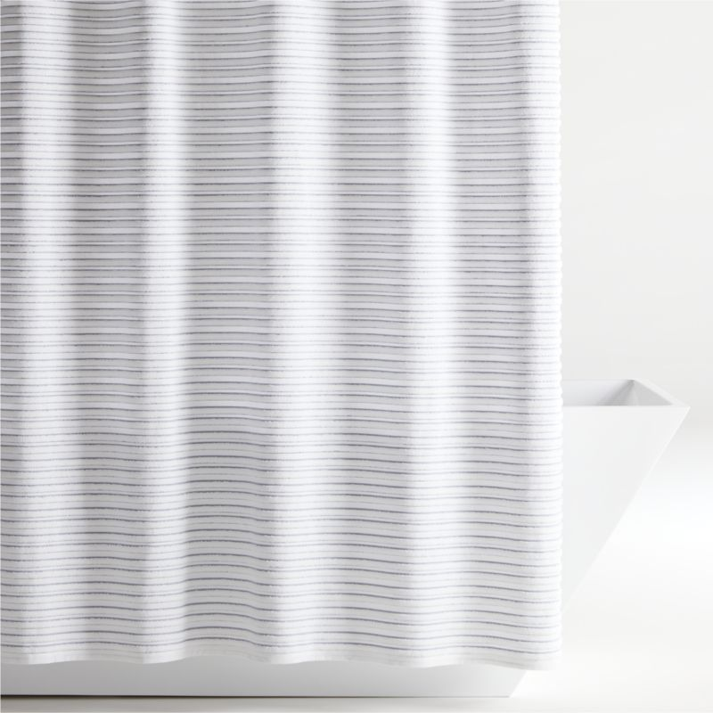 Dedra Shower Curtain Reviews Crate And Barrel Cotton Shower