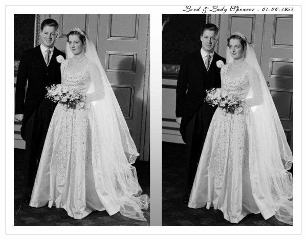 Wedding of Viscount John Spencer & Lady Frances Ruth Fermoy (Diana's parents )