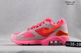 Womens Shoes Sport swear Nike Air Max 180 CDG Laser Pink Solar Red Pink  Rise AO4641 602 eace3b445