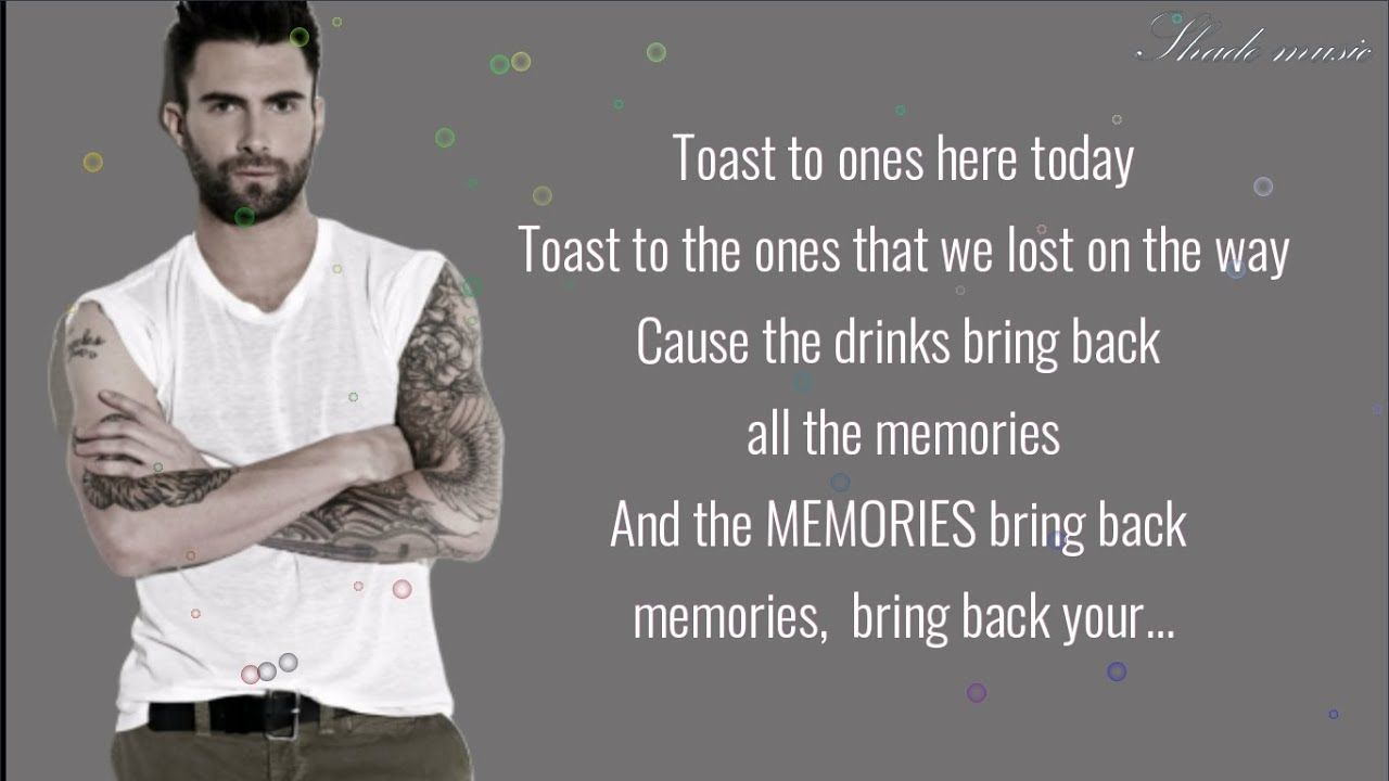 Maroon 5 Memories Lyrics Youtube Maroon 5 Lyrics Memories Quotes Lyrics