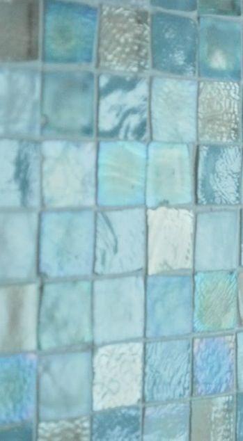turquoise sea glass tiles sea glass
