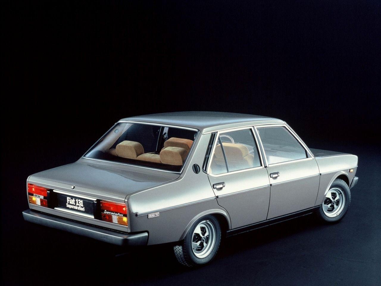 Fiat 131 Supermirafiori 1600tc Vecchie Auto Automobile Auto