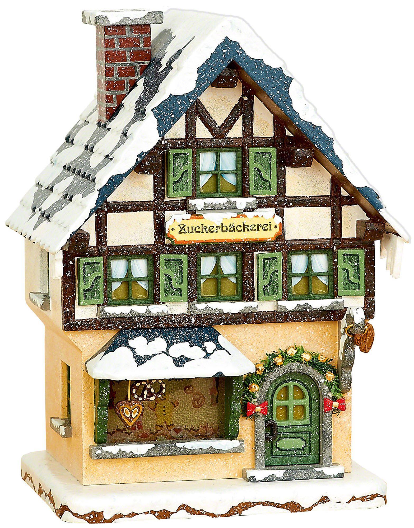 Winter children Sugar bakery illuminated (15cm/6in)ch by