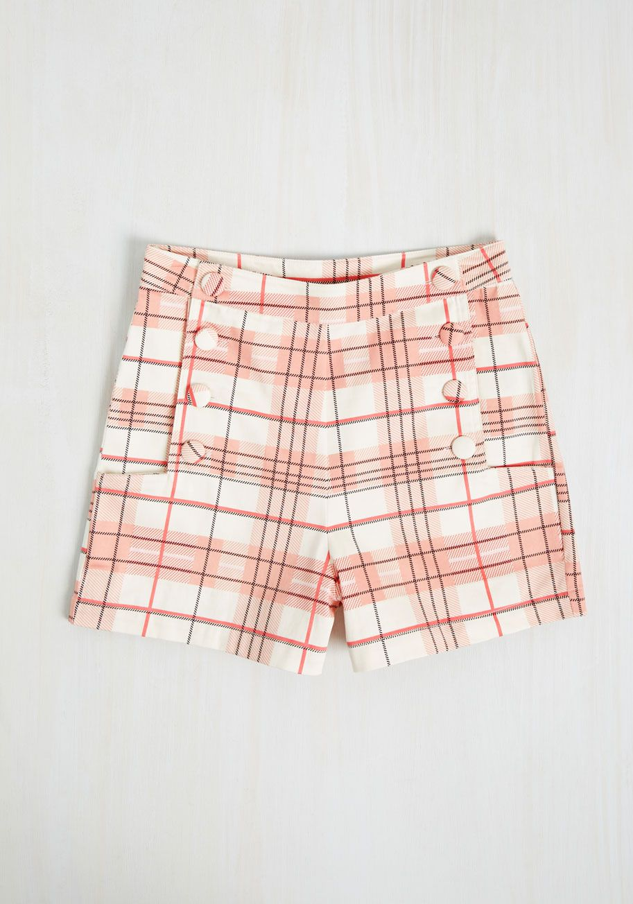 New Arrivals - Play by Playful Shorts in Petal Plaid   shores de ...