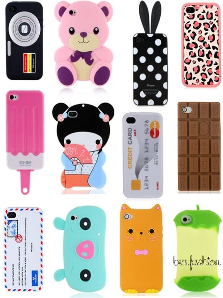 6f12c37ba13 Varias fundas de silicona Estuche Para Iphone, Accesorios Para Iphone,  Capas Iphone 6,