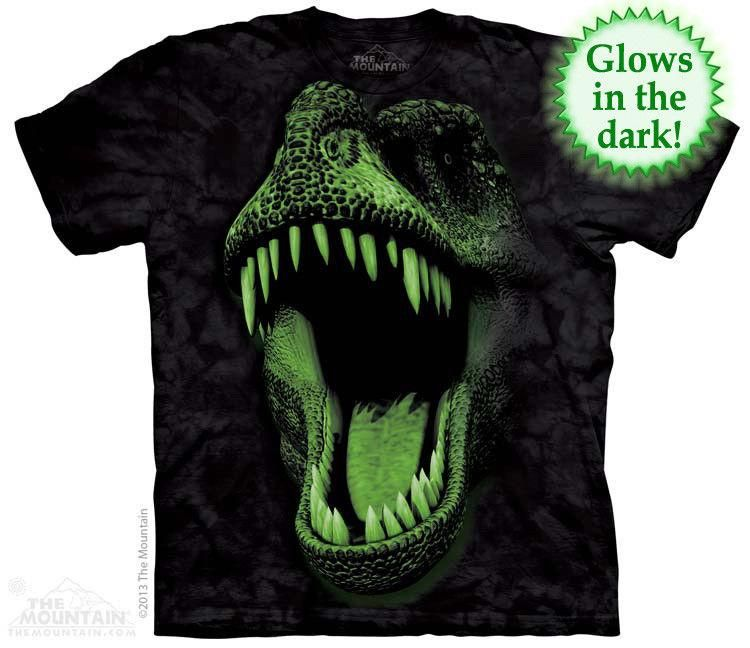 T-Rex Big Skull Dinosaur T Shirt Child Unisex The Mountain