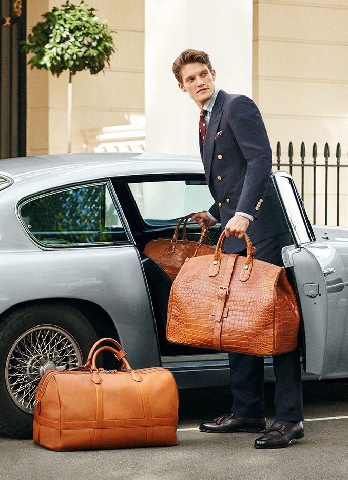 07317980a1 British Style   Foto. British Style   Foto Leather Luggage