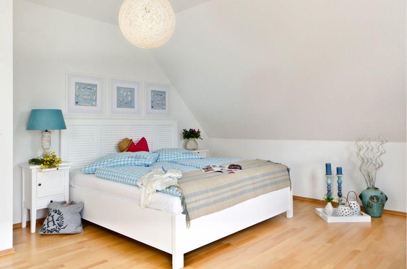 double bed Odette by massivum Echtholz möbel