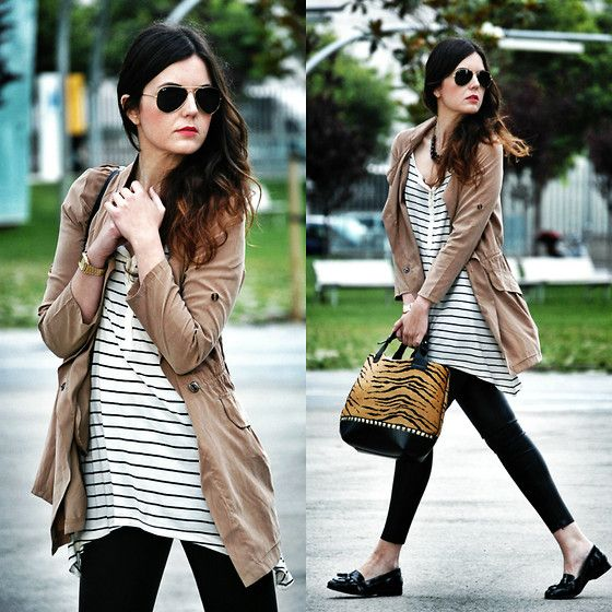 Outerwear, Zara Pants, Loafers, Zara Bag, Zara T.Shirt