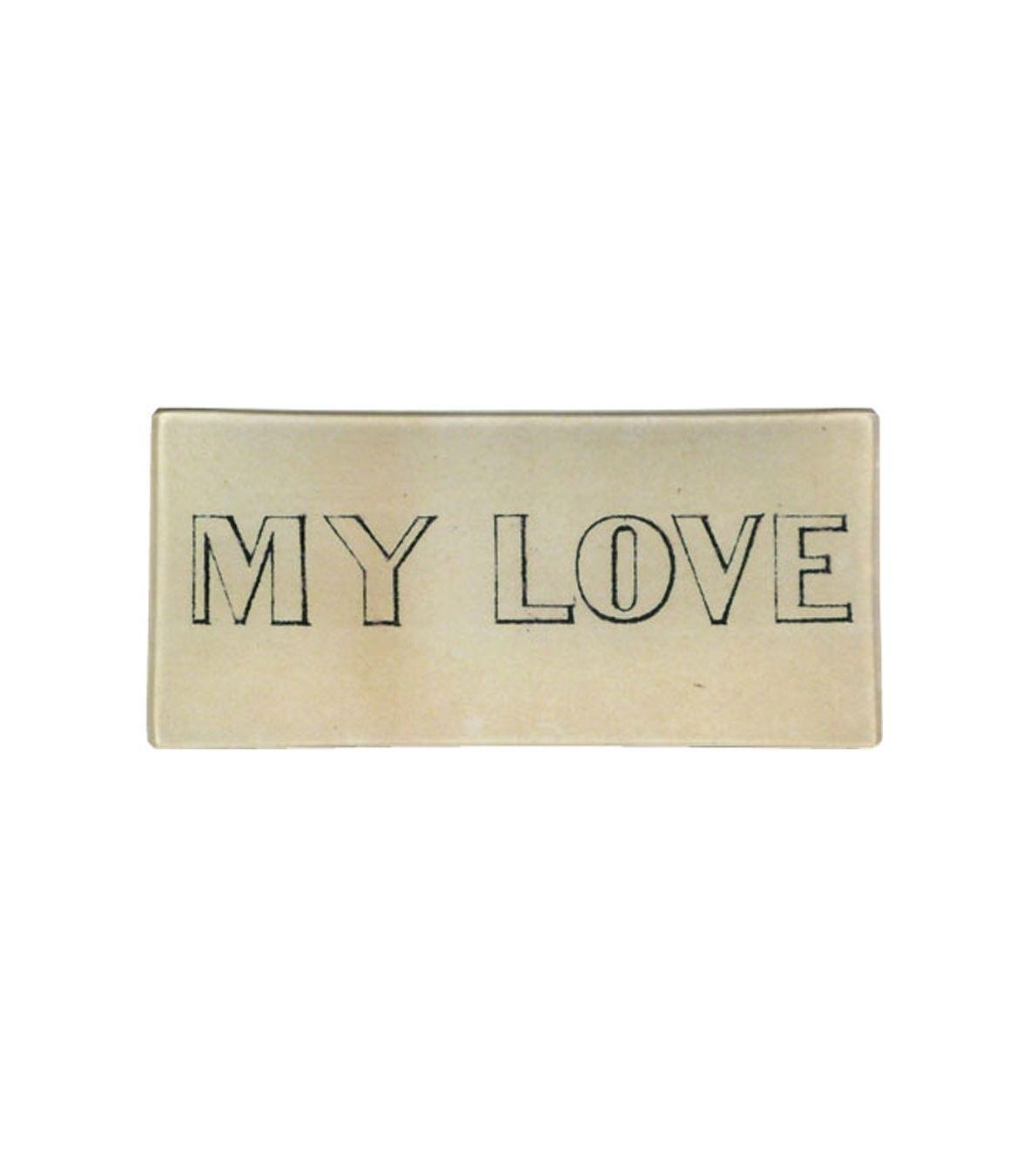 John Derian My Love Small Tray.