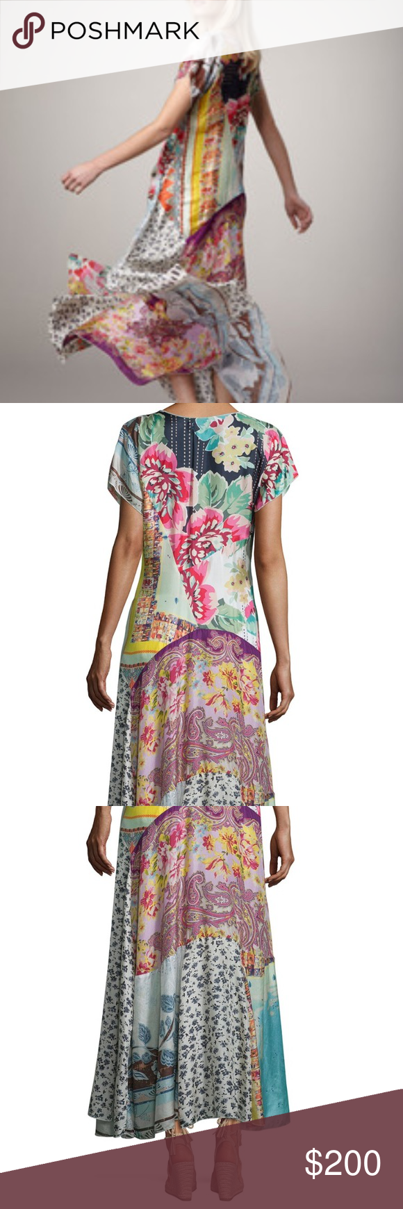 💙 SALE 💙 Johnny Was Georgette Maxi Dress | Dresses, Dress ...