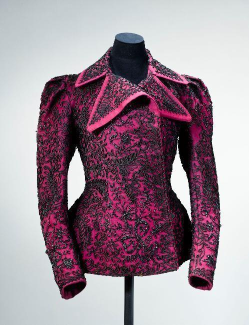 Jacket 1890s Musée Galliera de la Mode de la Ville de Paris