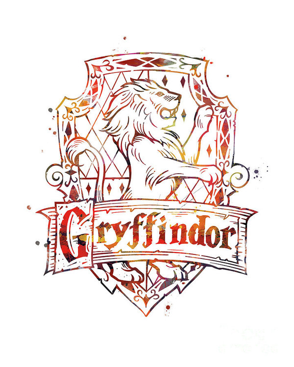 Gryffindor Crest Poster By Monn Print All Posters Are Professionally Printed Packaged And Harry Potter Background Harry Potter Wallpaper Dobby Harry Potter
