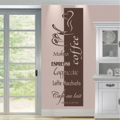 deko-shop-24.de-wandtattoo-banner coffee | wandtattoos | pinterest ... - Küche Dekoration Shop