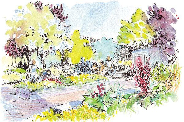 garden rendering - Google 搜索