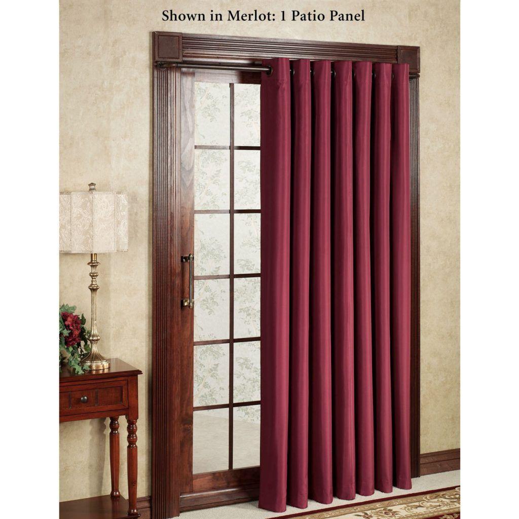 8 Ft Sliding Glass Door Curtains Glass Doors Pinterest Door