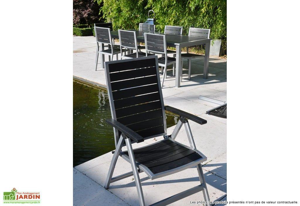 Fauteuil Inclinable Pliant Biscarosse | Mobilier de jardin ...