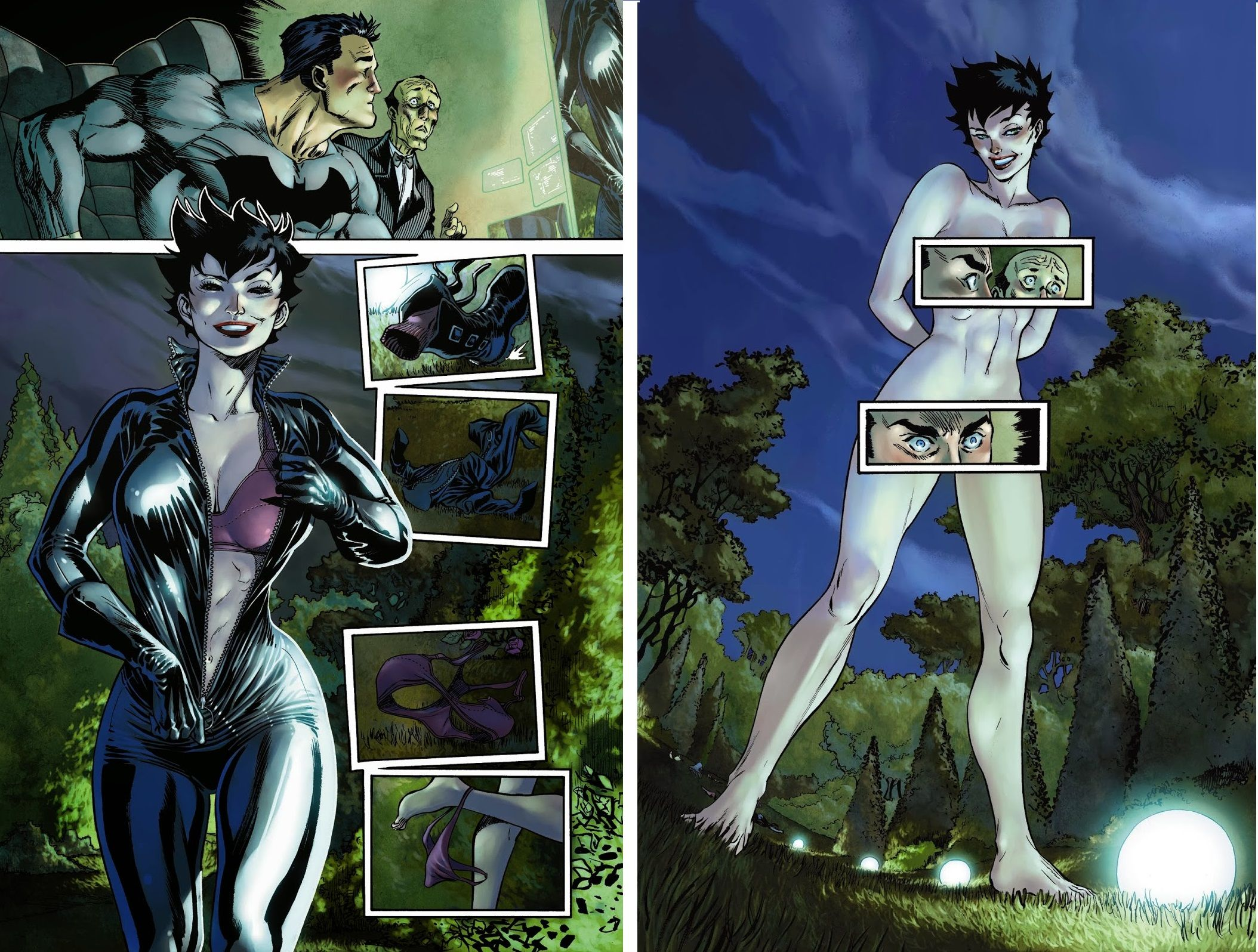 Catwoman Vol 4 #3 unseen pages - Art by Guillem March