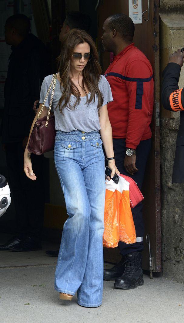 Quel Style Pour Moi morpho : quel jean taille haute pour moi ?   victoria beckham