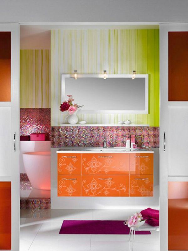 Ideen Für Badfliesen Modern Und Elegant Für Einen - Farbige fliesen badezimmer