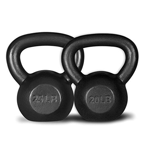 GHP Exercise Equipment Strength Training Combo 20Lbs 25Lbs
