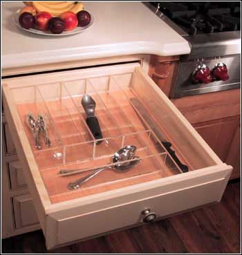 Find This Pin And More On Organizing Your Kitchen. Custom Drawer Organizers  U0026 Drawer Inserts ...