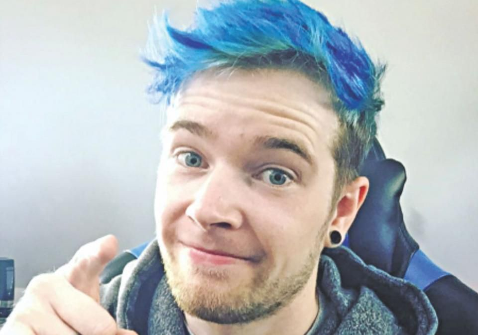 Five Highest Paid Youtubers In 2018 Dan Tdm Hair Dantdm Men