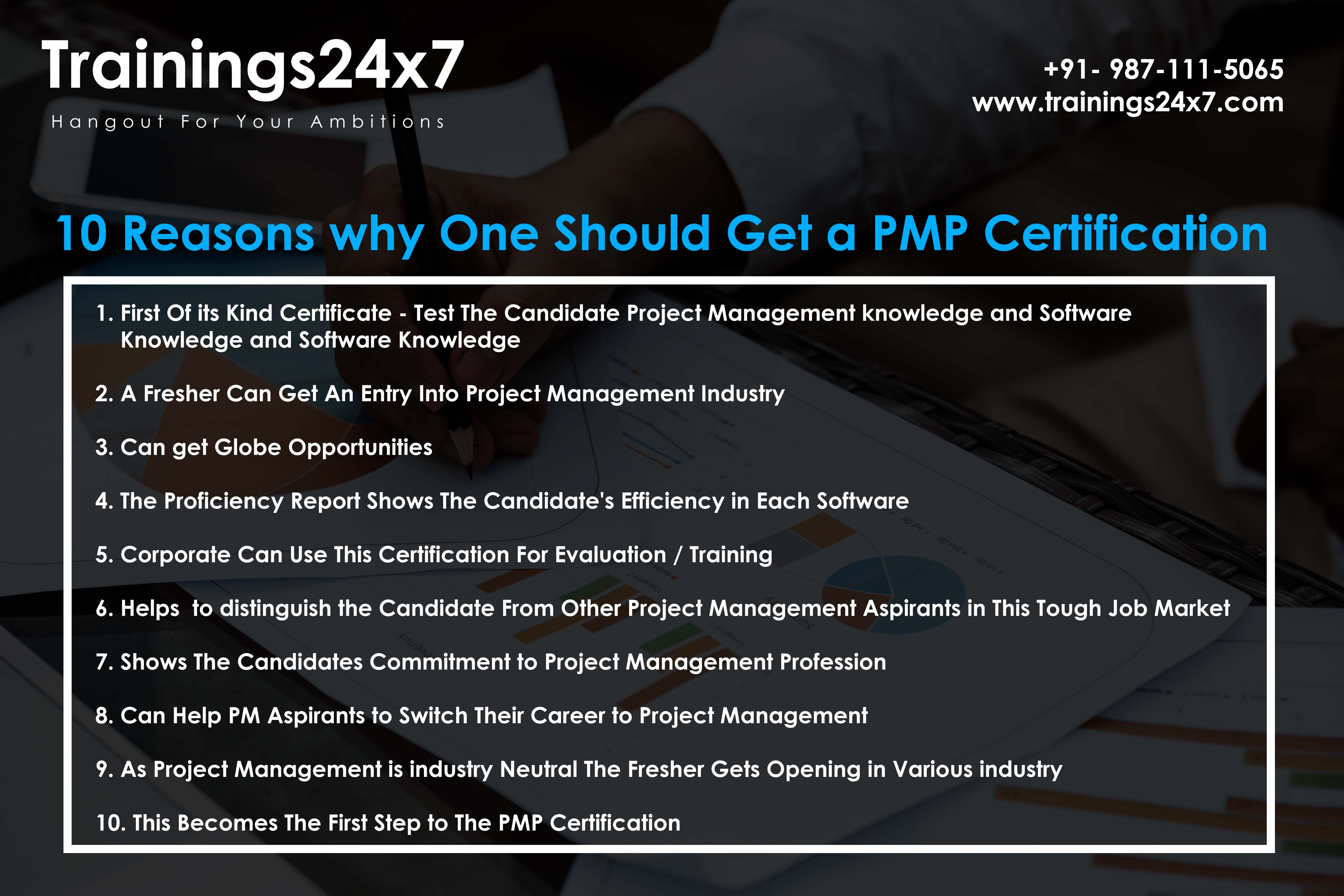 This Image Tell Us About The Benefits Of Pmp Join Our Upcoming