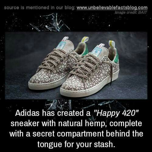 How cool. Happy 420Shoes ...