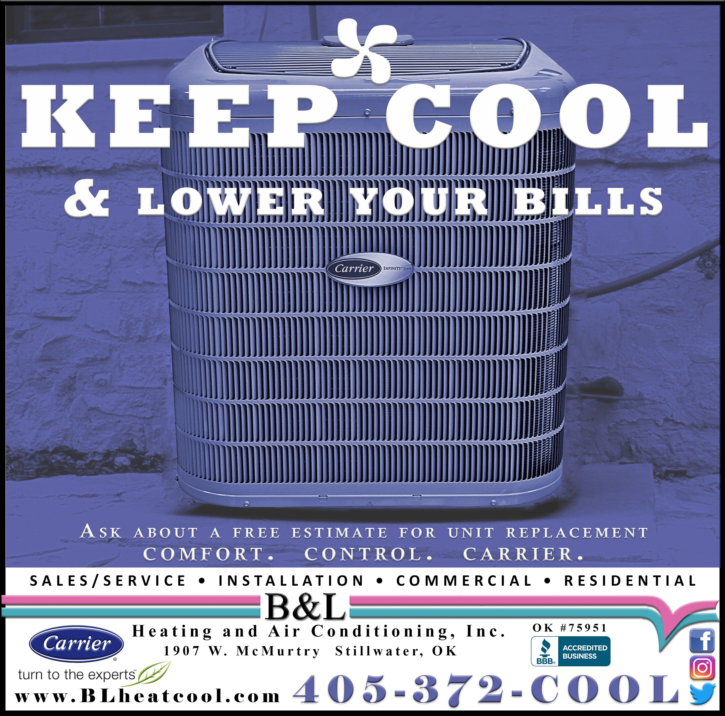 Pin By B L Heating And Air Conditioni On B L Ads Heating And Air