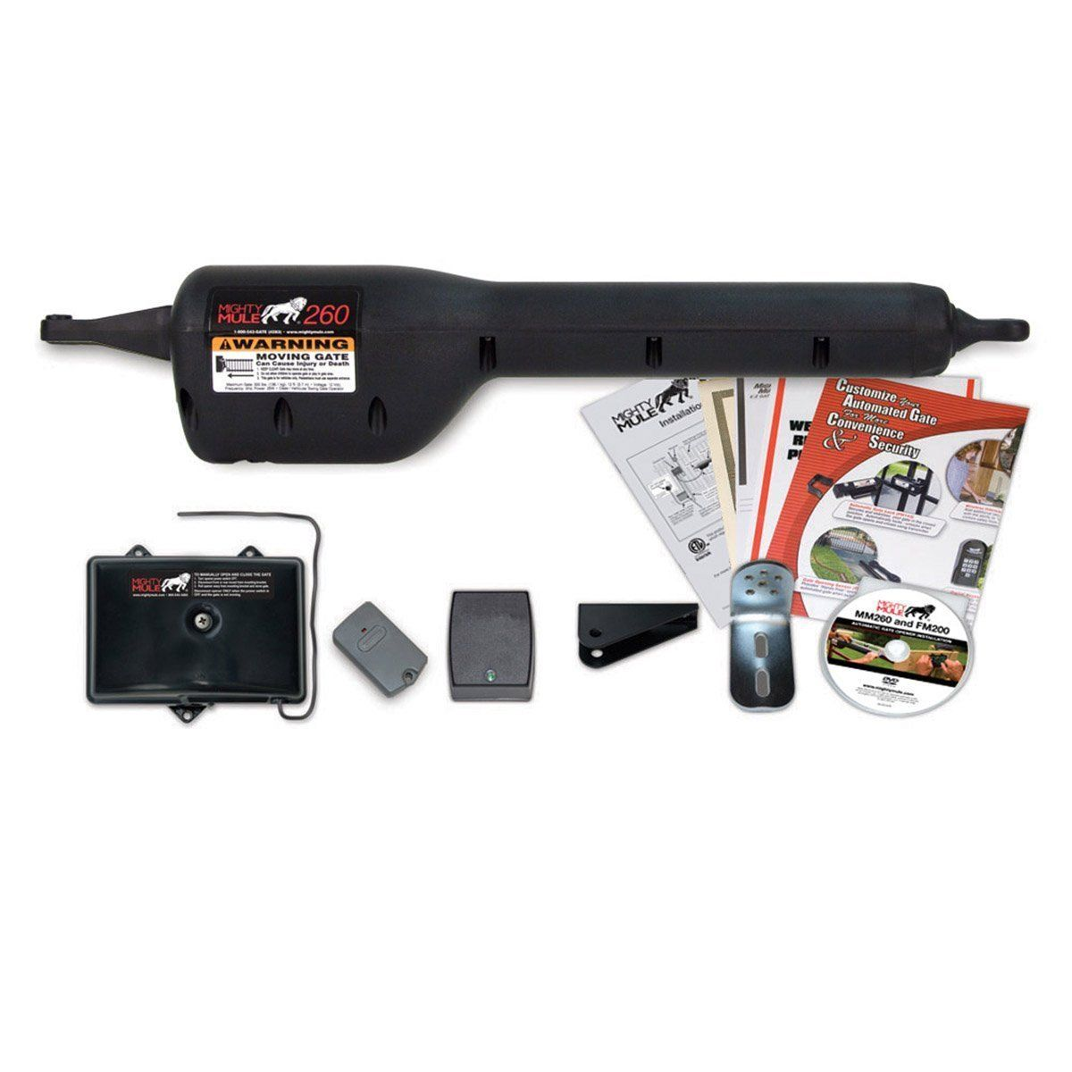 Rodeo Gear Mm262 Automatic Dual Gate Opener Kit By Mighty