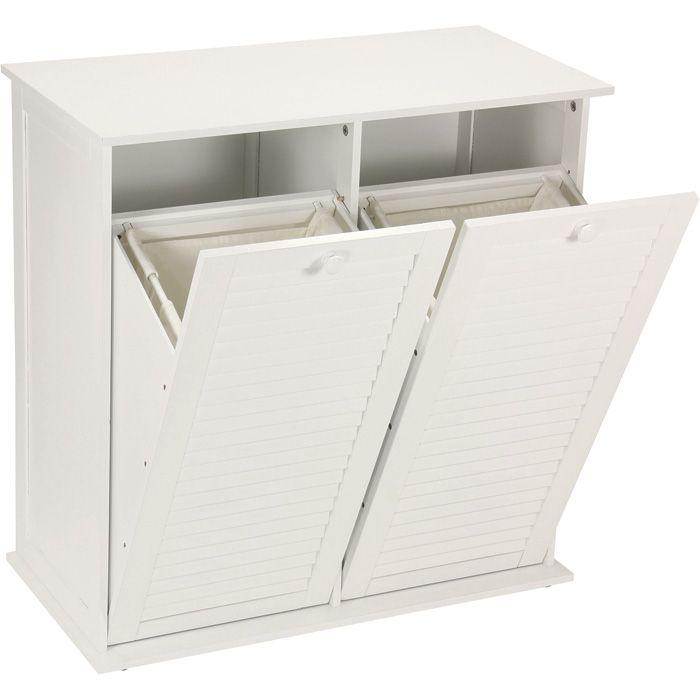 Tilt 45 Out Laundry Hamper Basket Cabinet 151 30in L X 15in W
