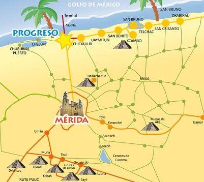Merida And Progreso Mexico Yucatan Mexico Merida Mexico Mexico