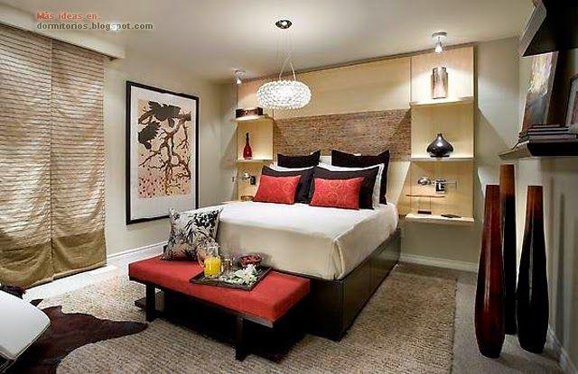 Dormitorio matrimonial peque o dormitorios pinterest - Decoracion de dormitorios matrimoniales pequenos ...