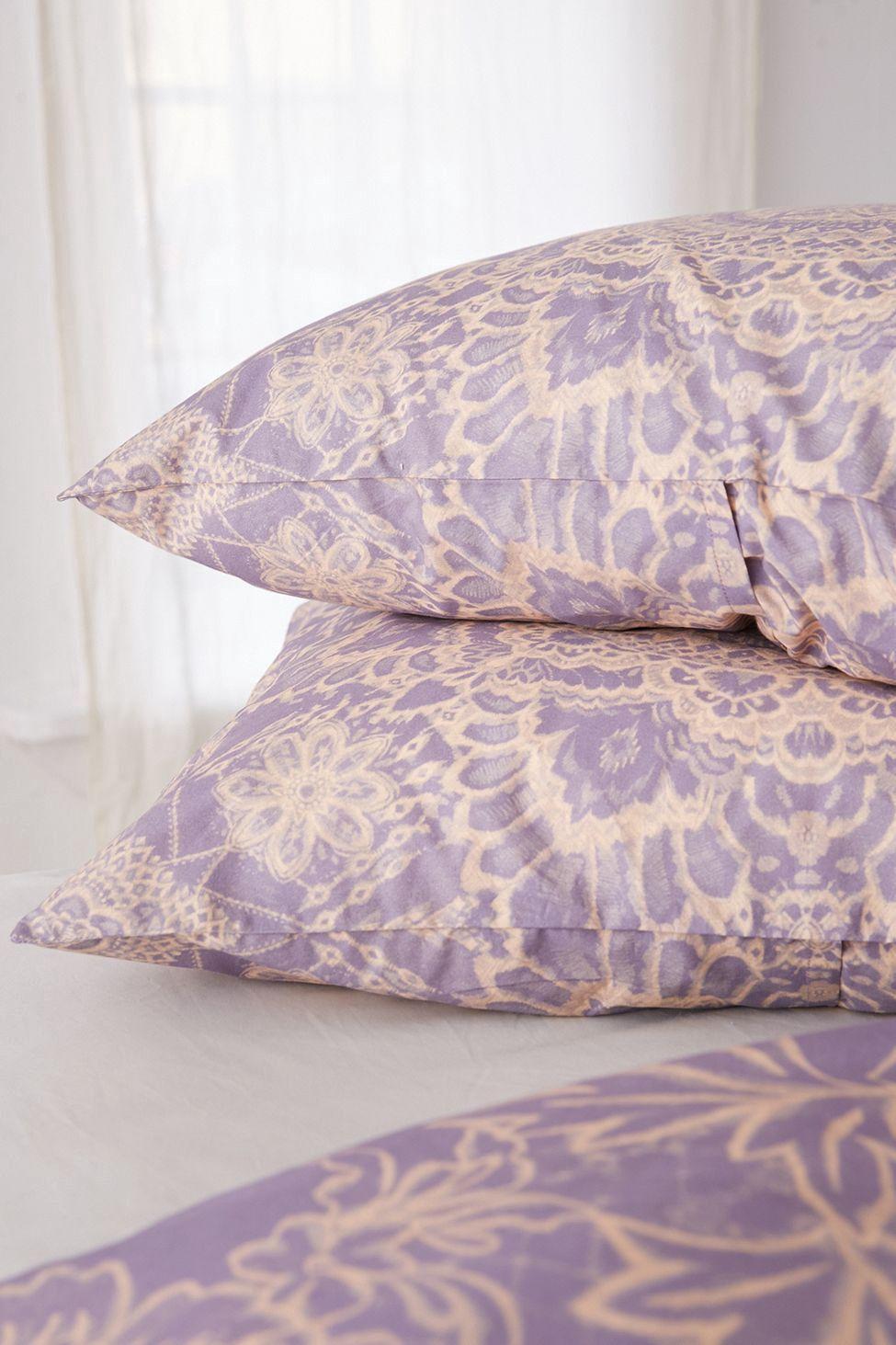 Urban Outfitters Kaye Medallion Sham Set Purple Multi
