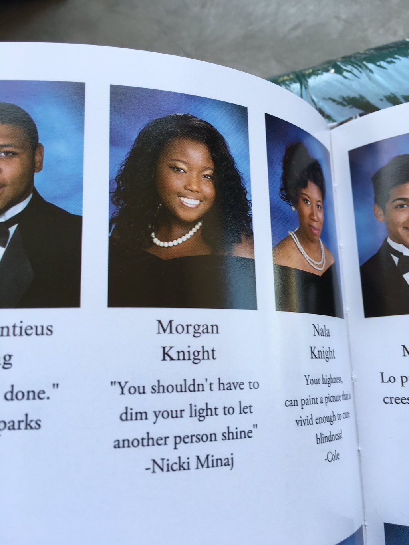 Nicki Minaj X Yearbook Quotes Funny Yearbook Quotes Funny Yearbook