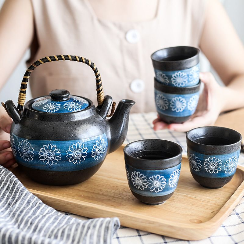 Ceramic Tea Pot Set Tea Pot Set Tea Pots Tea