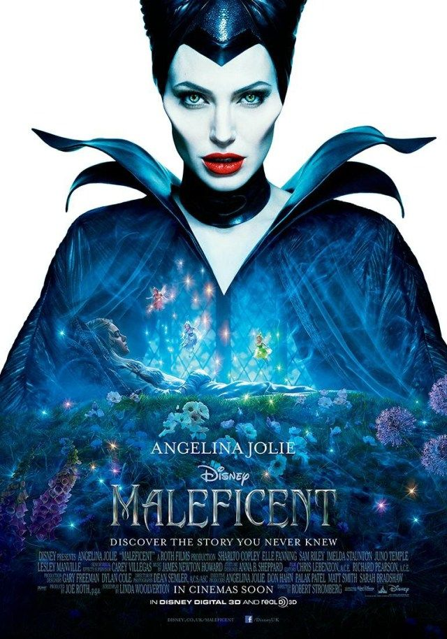 Angelina Jolie as 'Maleficent'