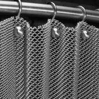 Decorative Metal Chain Door Curtain Architectural Decorative Wire