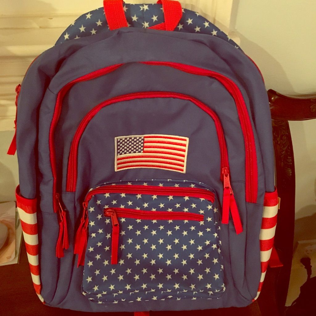 6dbf691cd8e Tipsy Elves American Flag 🇺🇸 Backpack