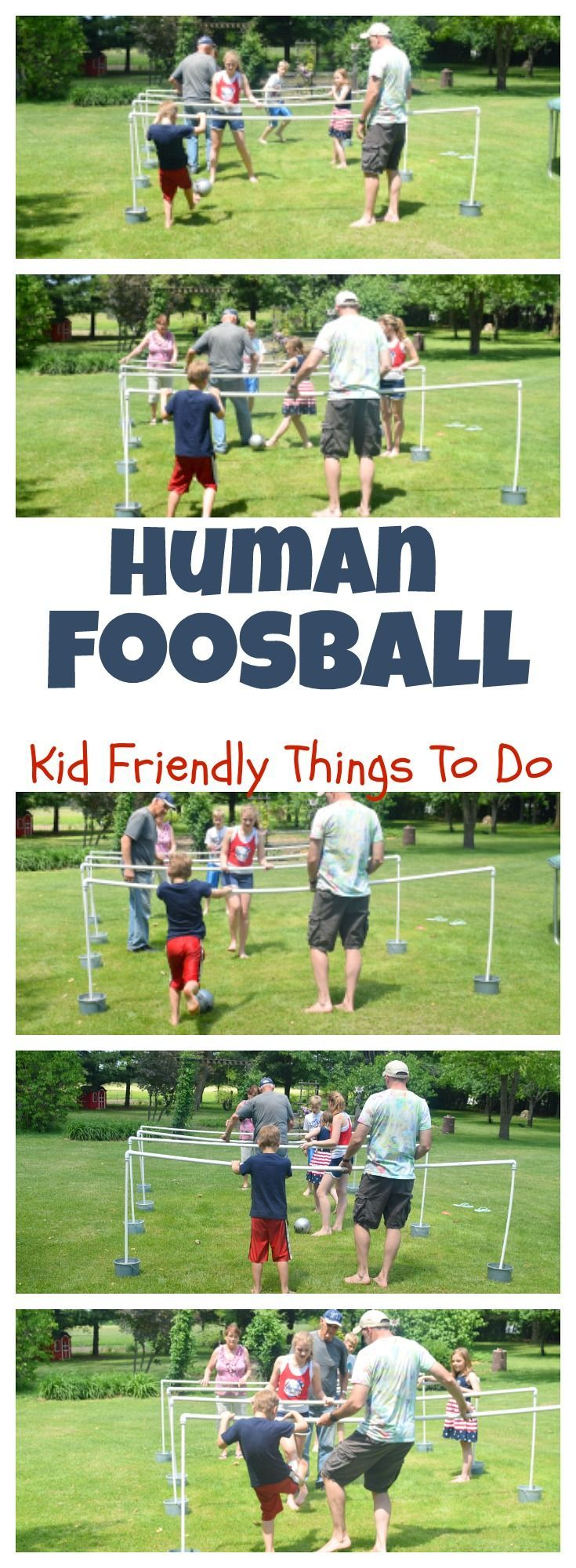 diy human foosball game for family fun pvc pipe pipes and gaming